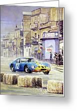 1964 Targa Florio Ferrari 250 Gto Greeting Card