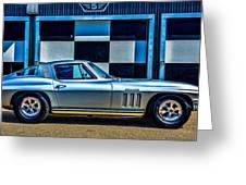 1965 Corvette Fuelie Greeting Card
