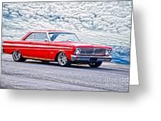 1965 Ford Falcon Sprint 289 Greeting Card