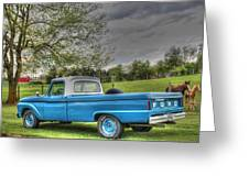 1965 Ford Greeting Card