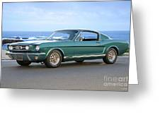 1965 Ford Mustang Fastback II Greeting Card
