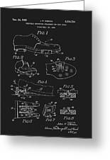 1965 Golf Shoes Patent Greeting Card