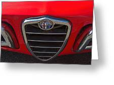 1966 Alfa Romeo Emblem Greeting Card