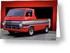 1966 Dodge A100 Pickup Greeting Card