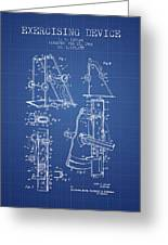 1966 Exercising Device Patent Spbb05_bp Greeting Card