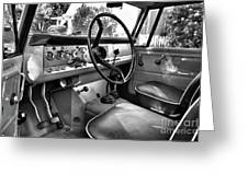 1966 International Scout Driver's Side B Greeting Card