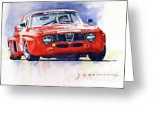 1967 Alfa Romeo Gta 1600 Groupe 5  Greeting Card