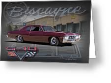 1967 Biscayne Greeting Card