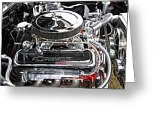 1967 Chevrolet Chevelle Ss Engine Greeting Card