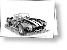 1967 Cobra Sc Greeting Card