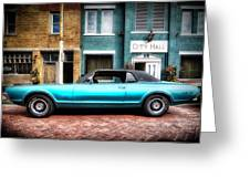 1967 Cougar Gt _hdr Greeting Card