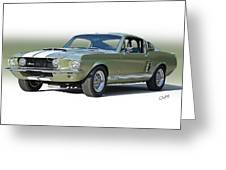 1967 Mustang 'shelby Gt 500' Greeting Card
