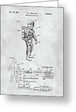 1967 Nasa Space Suit Drawing By Dan Sproul