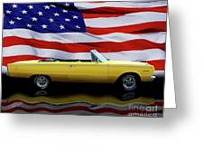 1967 Plymouth Belvedere Tribute Greeting Card