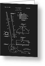 1967 Summers Golf Putter Patent Greeting Card