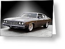 1968 Chevelle Super Sport Ll Greeting Card
