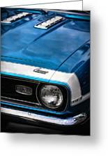 1968 Chevy Camaro Ss 396 Greeting Card by Gordon Dean II