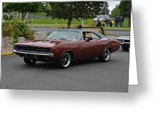 1968 Dodge Charger Grow Greeting Card