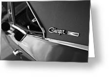 1968 Dodge Charger R/t Greeting Card
