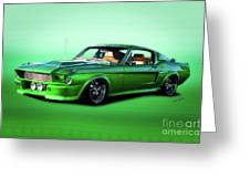 1968 Ford Mustang Fastback II Greeting Card