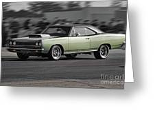 1968 Plymouth Satellite Greeting Card