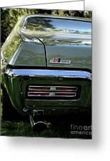 1968 Pontiac Gto Greeting Card