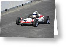 1968 Zink Formula Vee Greeting Card