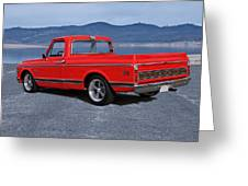 1969 Chevrolet Cst10 Pickup II Greeting Card