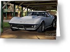 1969 Corvette Lt1 Coupe II Greeting Card