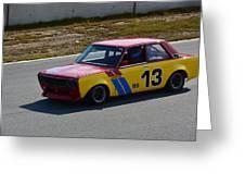 1969 Datsun 510 Greeting Card