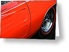1969 Dodge Charger Rt Greeting Card