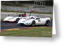 1969 Lola T163 And 1965 Wolverine Road America Greeting Card