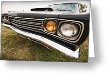 1969 Plymouth Road Runner 440-6 Greeting Card