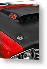 1969 Plymouth Road Runner 440 Greeting Card