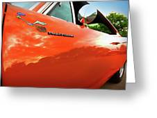 1969 Plymouth Road Runner 440 Roadrunner Greeting Card