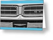 1969 Pontiac Gto  Greeting Card