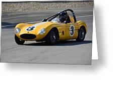 Vintage Racer Greeting Card