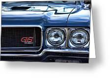 1970 Buick Gs 455 Greeting Card by Gordon Dean II