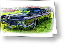 1970 Cadillac Deville - Vignette Greeting Card