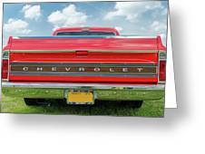 1970 Chevrolet Cs-10 Pickup Greeting Card
