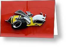 1970 Dodge Super Bee Emblem Greeting Card by Paul Ward