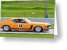 1970 Ford Mustang Greeting Card