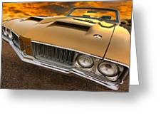 1970 Oldsmobile 442 W-30 Greeting Card