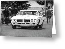 1970 Pontiac Gto Greeting Card