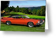 1972 Buick Gsx 455 Stage 1 Greeting Card