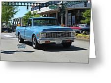 1972 Chevy C10 Bohall Greeting Card
