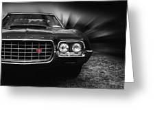 1972 Ford Gran Torino, Sport Fastback Greeting Card