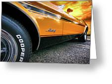 1973 Ford Mustang Greeting Card