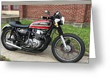 1973 Honda Cb750 Greeting Card