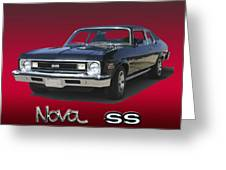1973 Nova S S 350 Greeting Card